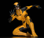 Wolverine 2nd skin textures for M4