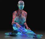Psyco Alien 2nd skin textures for V4