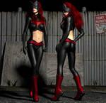 Batwoman 2nd skin textures for V4