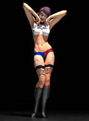 Harley Quinn suicide squad 2ndskin textures x V4