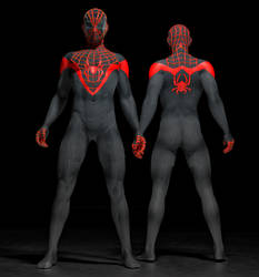 Spiderman Ultimate 2nd skin textures for M4