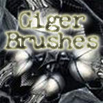 Giger Brushes by Offering