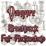 Vampire the Requiem Brushes by szantovitch