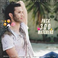 Pack 300 Watchers | Love you so xx by PrettyPrinc3