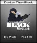 Darker Than Black - Anime Icon
