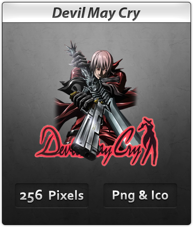 Devil May Cry - Anime Icon by DevilL-Dante