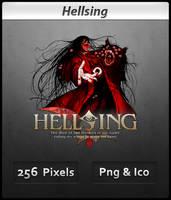 Hellsing v2 - Anime Icon by DevilL-Dante