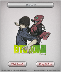 Btooom! v3 - Anime icon by DevilL-Dante