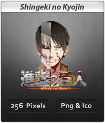 Shingeki no Kyojin v2 - Anime Icon by DevilL-Dante