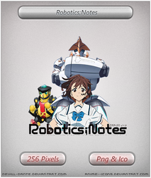 Robotics Notes- Anime icon by DevilL-Dante