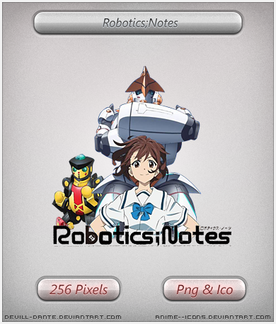 Robotics Notes Anime Icon By Devill Dante On Deviantart
