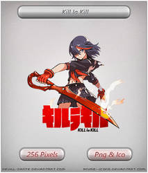 Kill la Kill- Anime Icon by DevilL-Dante