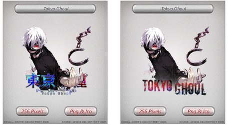 Tokyo Ghoul v2- Anime icon