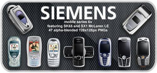Siemens mobile phones 2004
