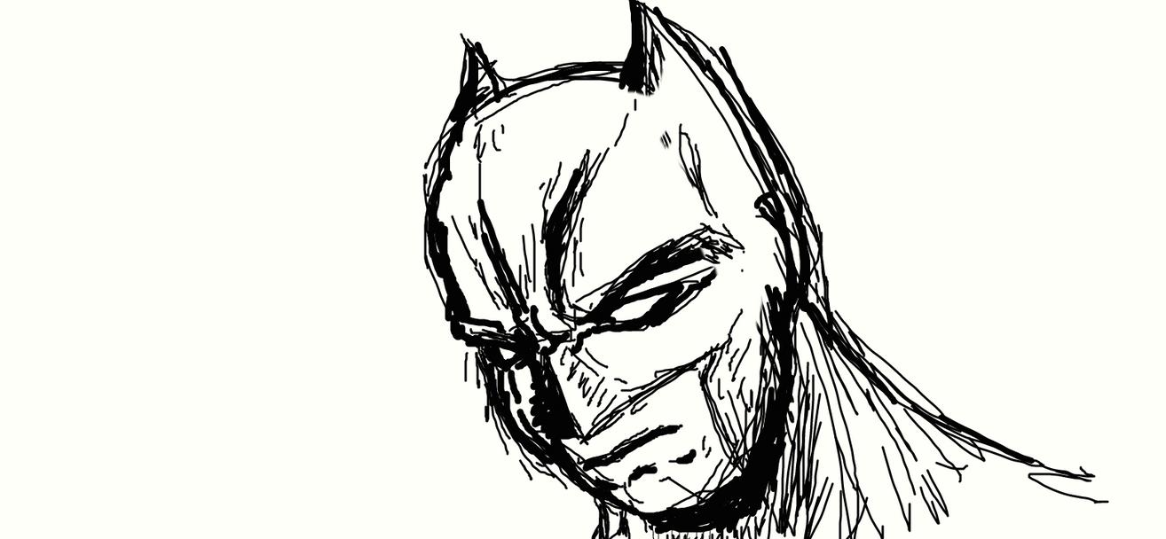 Batman DA muro by samzhengpro