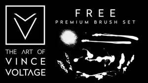 The Art Of Vince Voltage Brush Set