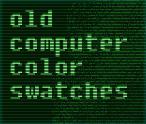 Oldcomputer Colorpalette -AMSTRAD-MSX-CGA