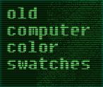 Oldcomputer Colorpalette -AMSTRAD-MSX-CGA by Scaero