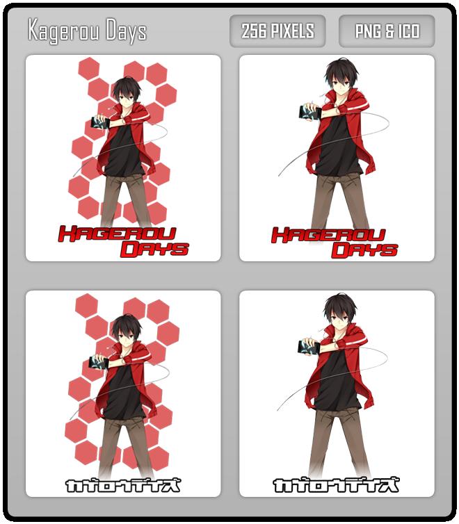 Kagerou Days Folder Icon V.2 by Aven-23