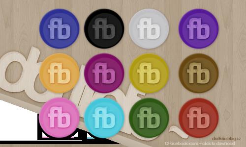 Fb Icons ~ Dortfolio by Dainns