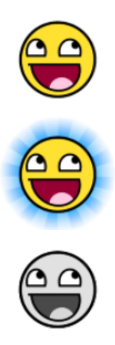 AwesomeOrb Start Button by SpazChicken