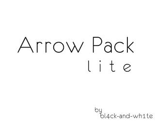 Arrow Pack - Lite by Bl4ck-and-wh1te