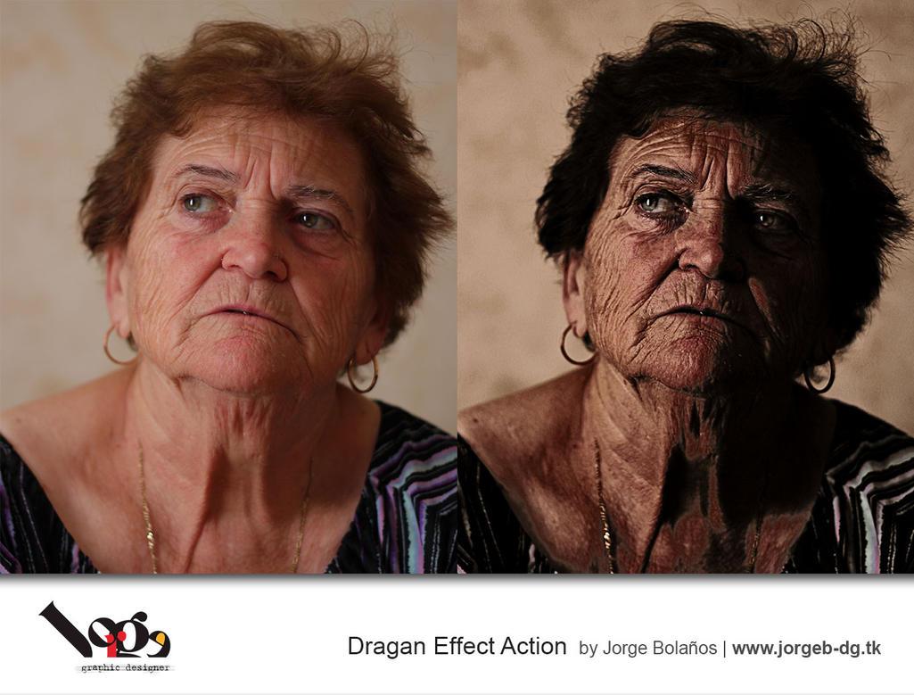 Dragan Effect Action by DraculaNosferatu