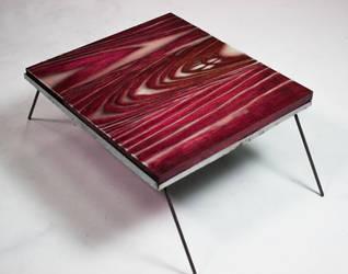 Glowing Footstool by Mustashio120