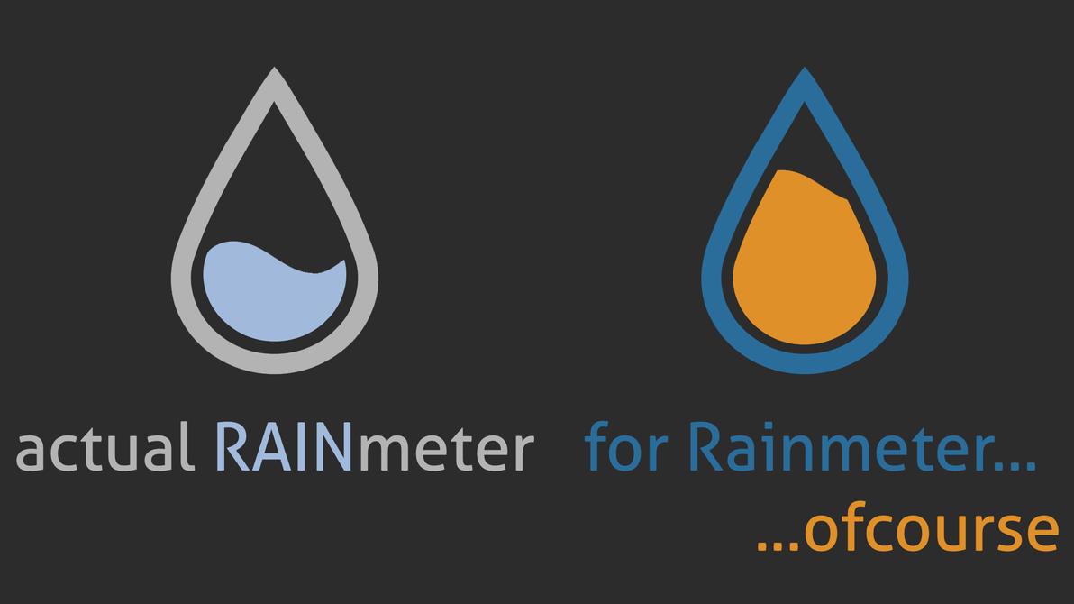Actual Rainmeter by WyzzyMoon