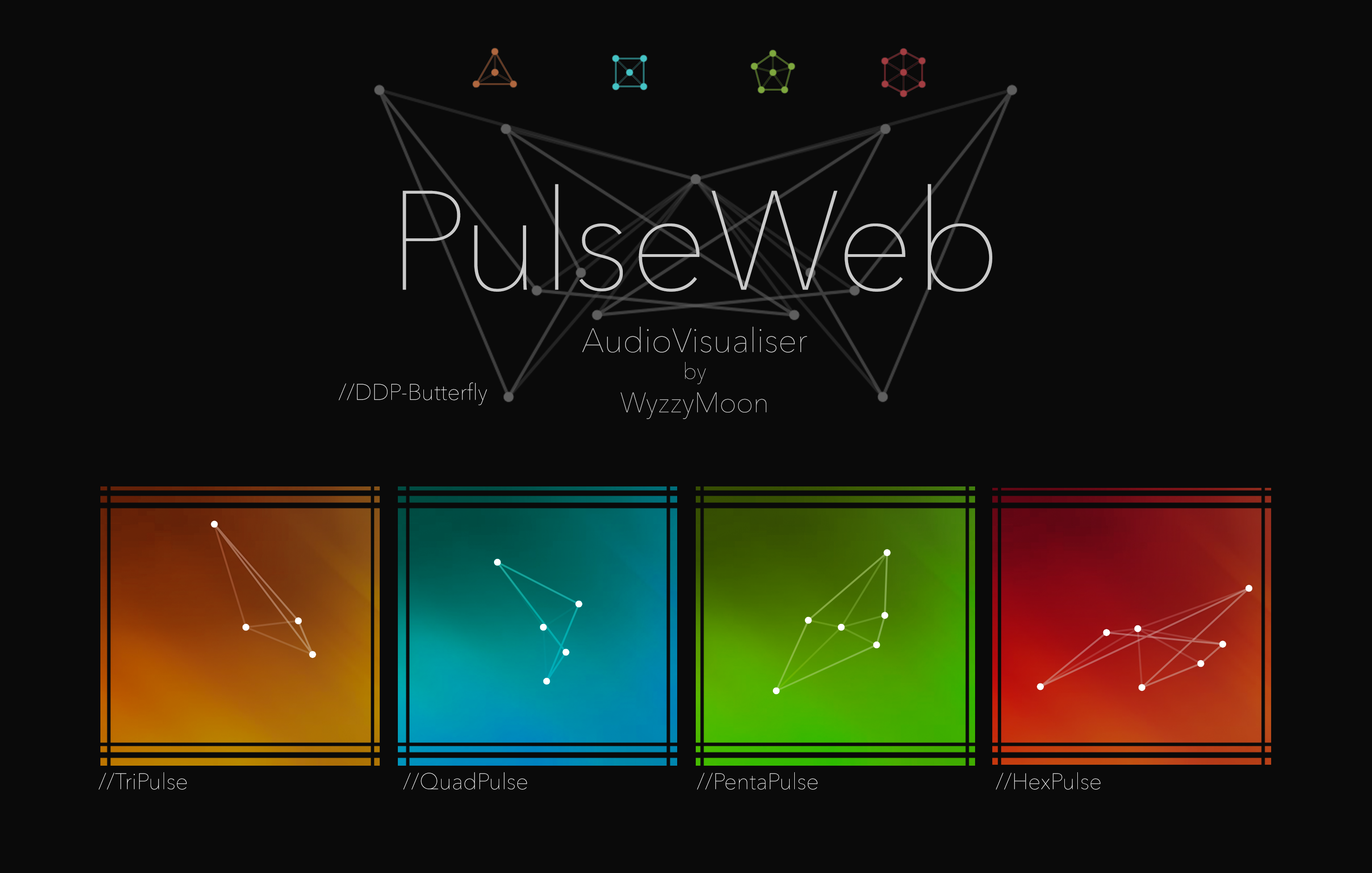 PulseWeb Audio Visualizer by WyzzyMoon