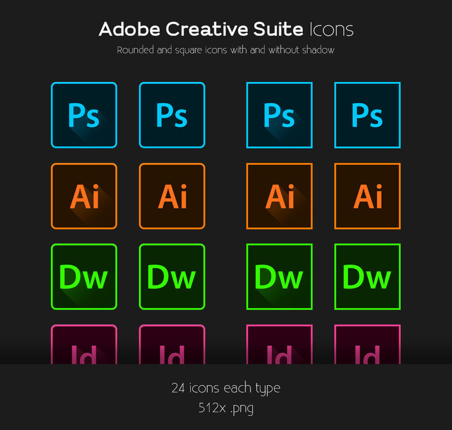 adobe creative suite icons by tvanoris on deviantart