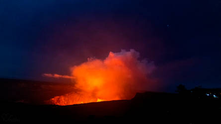 Halemaumau crater December 2020 eruption