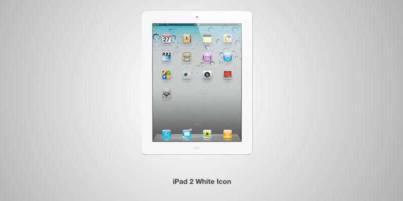 White iPad 2 Icon by TheWonderlands on DeviantArt