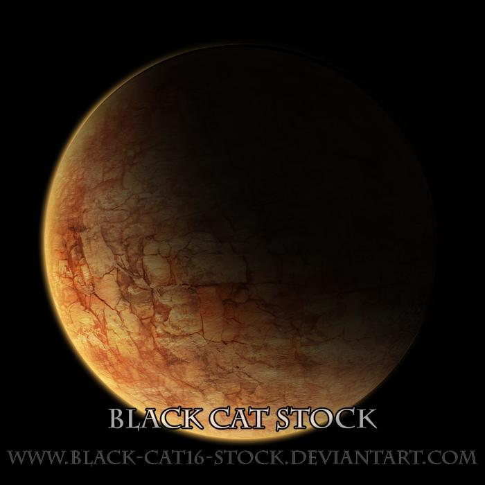 Rocky planet stock