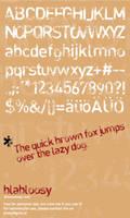 blabloosy-font