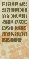 karmoofel experimental font by loosy