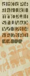 karmoofel experimental font by loosy