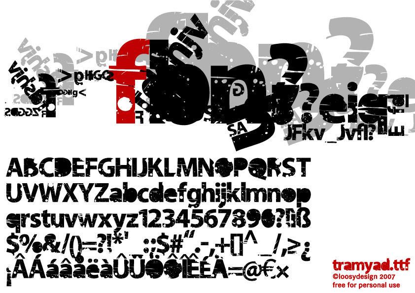 tramyad.ttf download by loosy