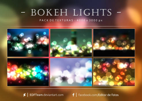 Pack de texturas - Bokeh Lights