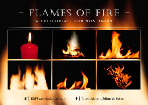 Pack de texturas - Flames of Fire