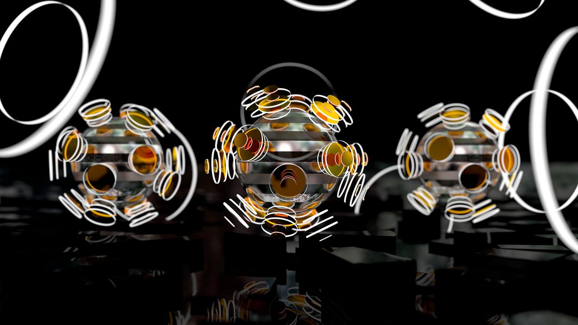 Focused Spheres Wallpaper Pack 4k And Full Hd By Dario999 On