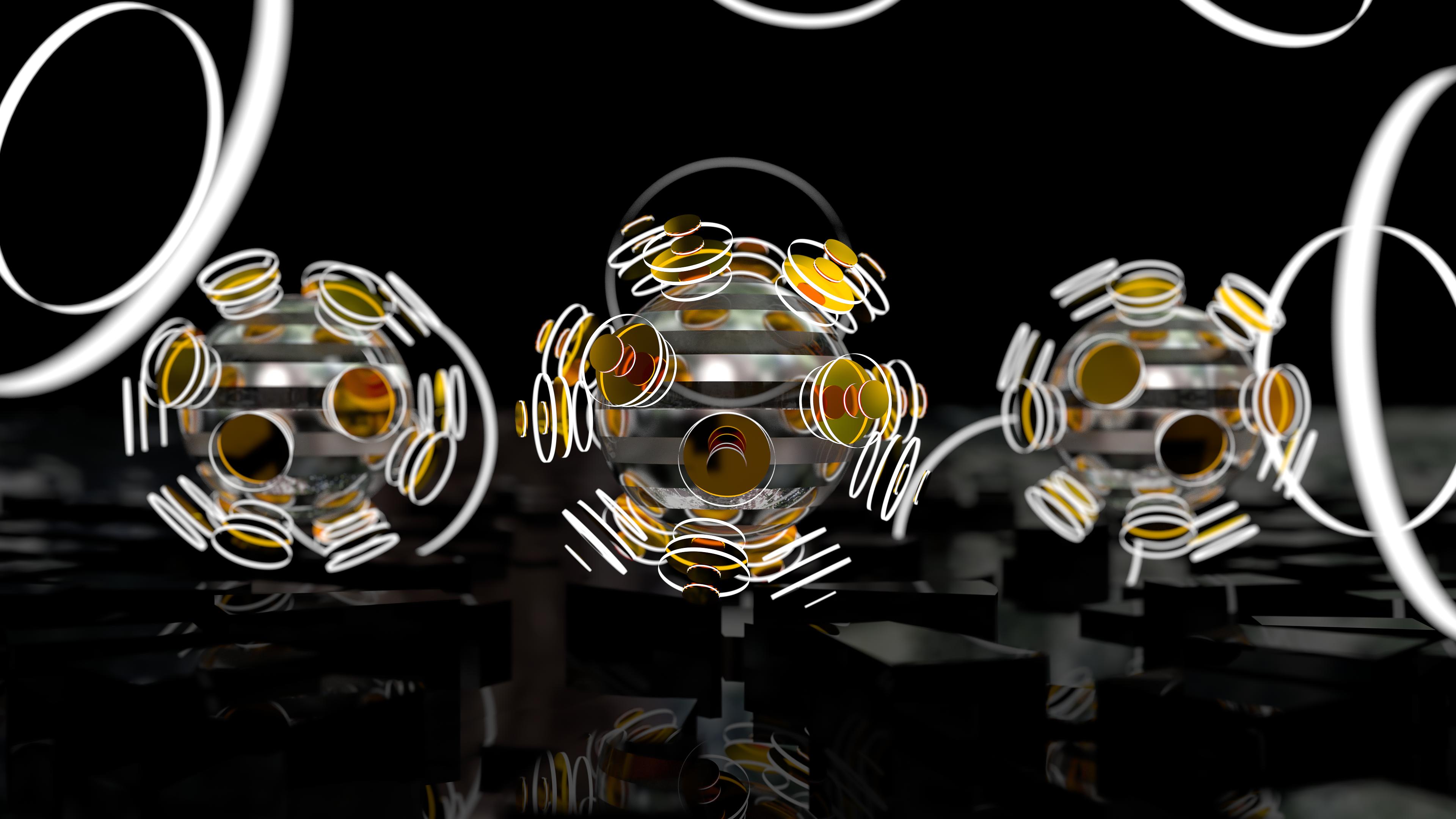 Focused Spheres - Wallpaper-Pack (4k and Full HD) by Dario999