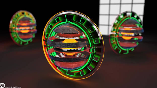 Rusted Titanium Disks | Timelapse | HD