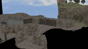 MMD Cave Scenery DL