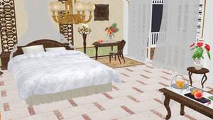 MMD DOAX3 Bedroom DL