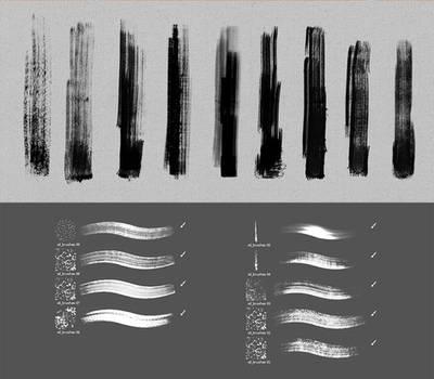 Dry-oil Brushes