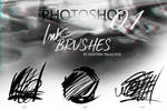 INK BRUSHES FOR PHOTOSHOP