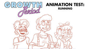 Growth Period Animation Test: Running. by Atariboy2600