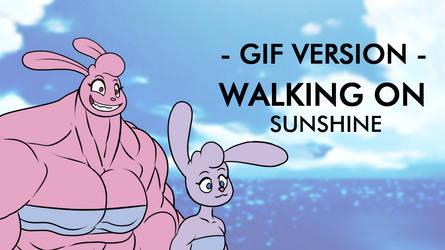 Walking On Sunshine. GIF
