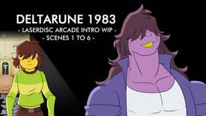 Deltarune Arcade 83 WIP Scenes 1 to 6 by Atariboy2600